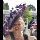 "Gorgeous & Glorious ""Purple Rain"" Extreme Fascinator"